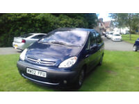 Superb Citoen Xsara Picasso 2.0 ltr SX HDI Diesell with Air Con 2002