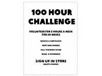 *********** 100 Hour Challenge ************* OXFAM ****