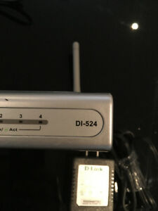 2 - D-LINK DI-524 Routers $10 for both