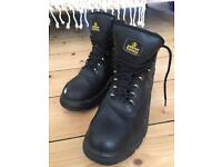 Workman steel toe boots excellent condition