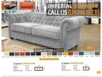 chesterfield style Sofa cum bed bm