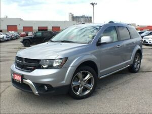 2016 Dodge Journey CROSSROAD**LEATHER**7 PASSENGER**NAV**SUNROOF