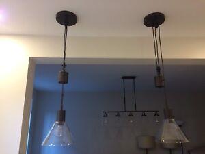 Like new Berklee pendants/ pendatifs luminaires