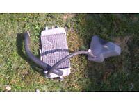 derbi senda radiator with water tank