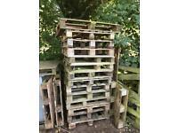 Wooden Pallets / use for fire wood, kindling DIY!