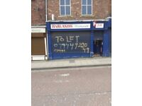 Shop & offices above to rent