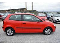 Volkswagen Polo 1.2 3 DOOR RED 3 DOOR 2008 MODEL + BEAUTIFUL+