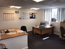 Office to Let Near Birmingham City Centre With Parking