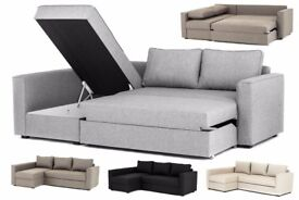Boston Luxury Fabric Corner Sofa And Sofabed