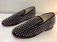 CHISTIAN LOUBOUTIN MEN'S SPIKE SHOES SIZE : 41 BRAND NEW WITH BOX !