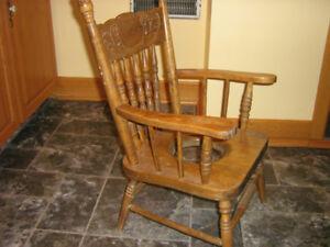 Childs PressBack Potty Chair