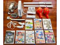 Nintendo Wii console, games and controllers £50 - ONO