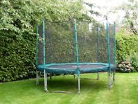 10ft Trampoline with safety net surround (tp brand)