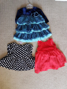5 baby girl dresses - all for only $30
