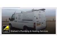 Graham's Plumbing and Heating Services covering Ipswich and surrounding areas.