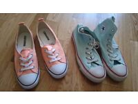 Womens converse trainers size 6