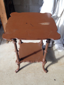 Antique Table/Plant Stand