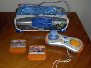 Console de jeux V-Tech (+ jeux)