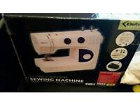 Delta different part ten electric sewing machine in box