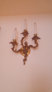Sconces chandeliers muraux