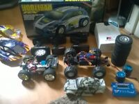 remote controls and cars an parts