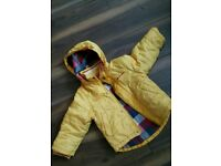Ben sherman boy yellow winter jackets