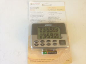 ACC-TEMP Dual Digital Timer