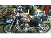 125cc sym husky road legal motorbike