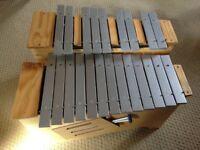 MET13B Bass Diatonic & MET06B Bass Chromatic Half Metallophone/Glockenspeil