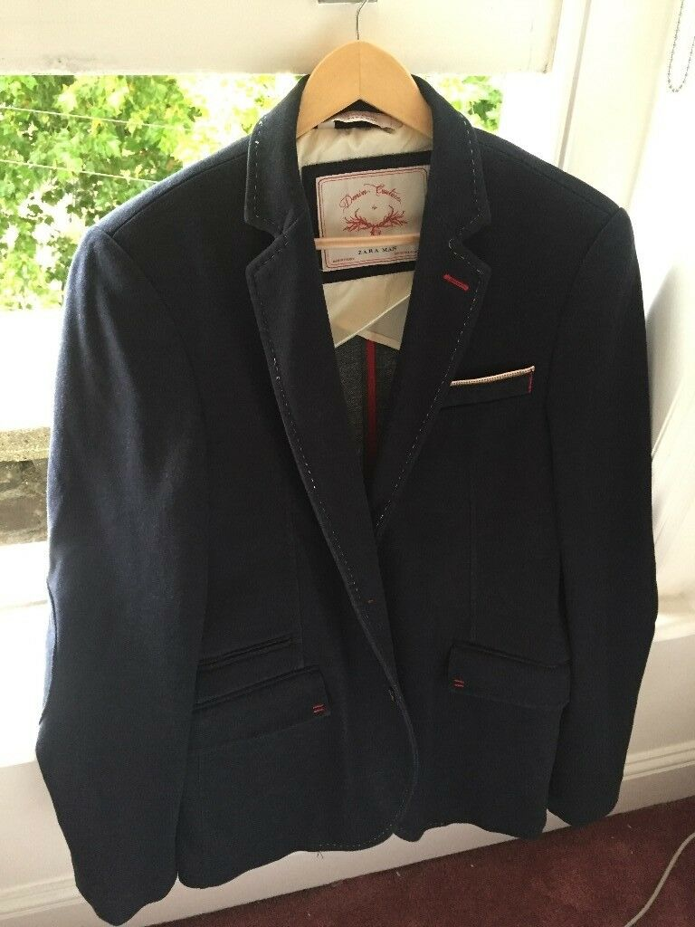 Zara Man - Smart Casual Blazer Navy Blue - BRAND NEW