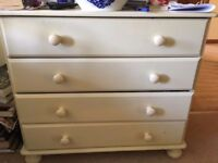 Chest of drawers/£20