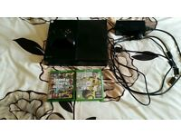 Xbox One with 2 Games
