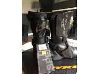 Spyke motorcycle boots