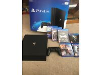 Ps4 pro 7 games