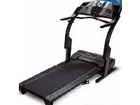 Treadmill ProForm 790 TR up to 12mph/14% incline with workout programs