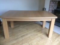 Extendable dining kitchen table