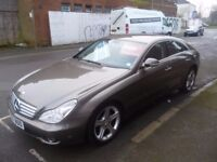 Mercedes CLS 320 CDI Auto,4 door Sports Coupe,FSH,full MOT,full electric leather interior