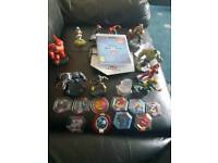 Disney infinity 2.0 ps3 starter pack with characters and power discs