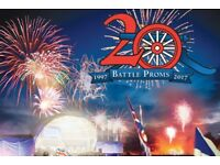 LAST CHANCE 2 x Battle of proms picnic concert tickets Saturday 12 August RRP £86 tickets ragle