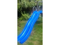 TP slide for Explorer climbing frame. Blue fibreglass