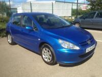 PEUGEOT 307 HDI 2.0 LTR DIESEL,2004,NEW CLUCTH FITTED AUG 2017,MOT MAY 2018,£595!