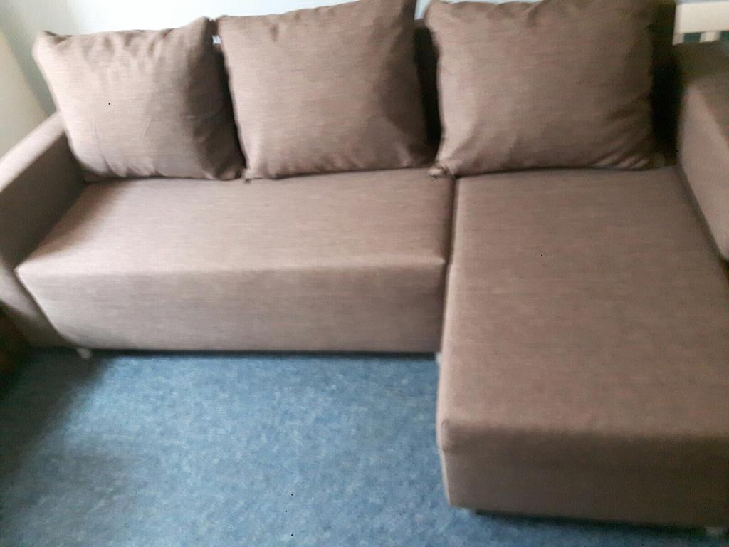 Corner sofa bed. Deliveryin Bournemouth, DorsetGumtree - Corner sofa bed, Very good , clean condition Very comfortable From non smoking and pet free home Can deliver