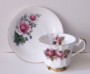 Set of 7 Assorted Cups & Saucers