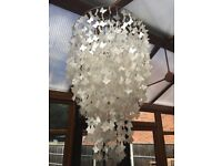 BHS Shell Butterfly Ceiling Light