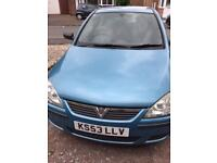 Vauxhall Corsa 53 plate very low mileage petrol 1.0 low insurance