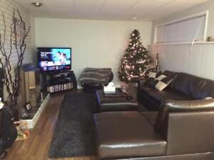 Large 2 bdrm suite Valleyview, laundry and utilities included
