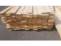 joblot timber lengths - 240 pieces - 95mm x 10mm x 4.8m long