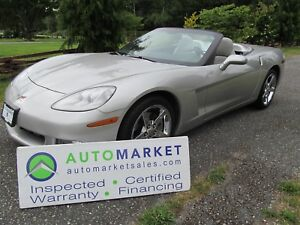 2007 Chevrolet Corvette Low Km's, Mint, Insp, Warr