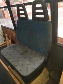 Van/minibus seats (double)
