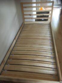 Ikea Single Bed (without mattress)